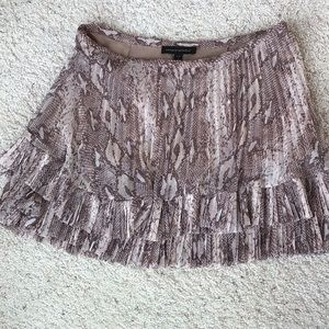 Banana Republic Mini Pleated Skirt